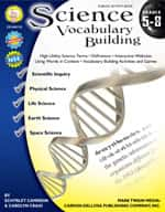 Science Vocabulary Building: Grades 5-8 by Mark Twain Media
