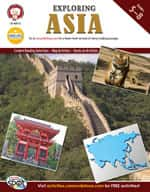 Exploring Asia by Mark Twain Media