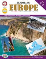 Exploring Europe by Mark Twain Media