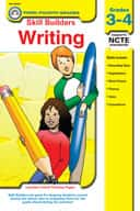 Skill Builders Writing, Grades 3-4