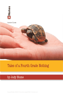 Tales of a Fourth Grade Nothing eNotes Lesson Plan
